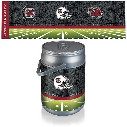 690-00-000-525-0: South Carolina Gamecocks - Can Cooler (Football Design)