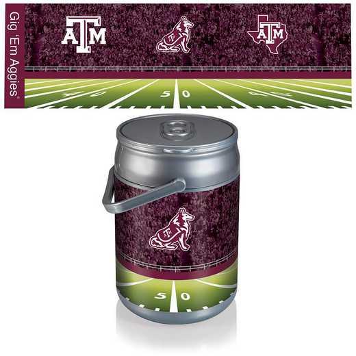 690-00-000-565-0: Texas A&M Aggies - Can Cooler (Football Design)