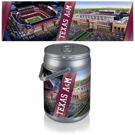 690-00-000-566-0: Texas A&M Aggies - Can Cooler (Stadium Design)