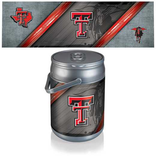 690-00-000-574-0: Texas Tech Red Raiders - Can Cooler