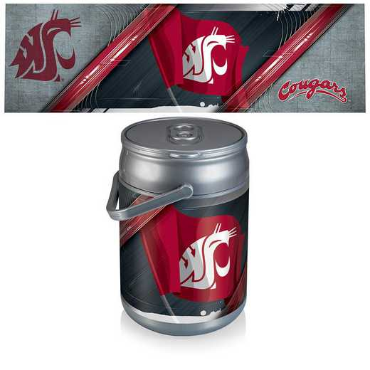 690-00-000-634-0: Washington State Cougars - Can Cooler