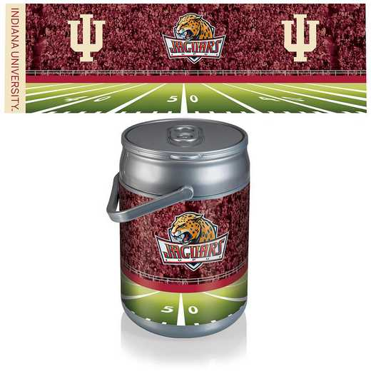 690-00-000-675-0: Indiana Hoosiers - Can Cooler (Football Design)