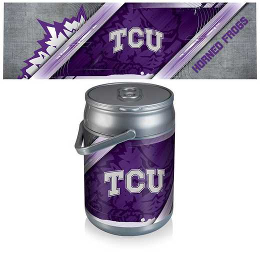 690-00-000-844-0: TCU Horned Frogs - Can Cooler