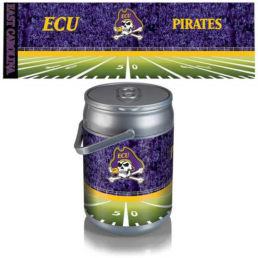 690-00-000-875-0: East Carolina Pirates Jolly Roger - Can Cooler (Football Design)
