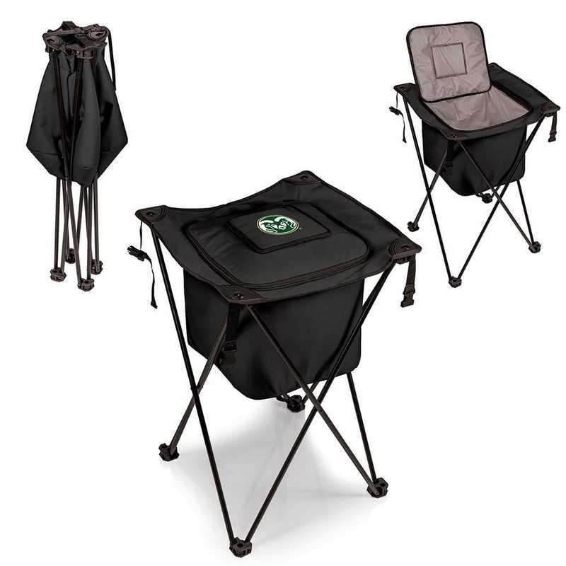 779-00-179-134-0: Colorado State Rams - Sidekick Portable Standing Cooler (Black)