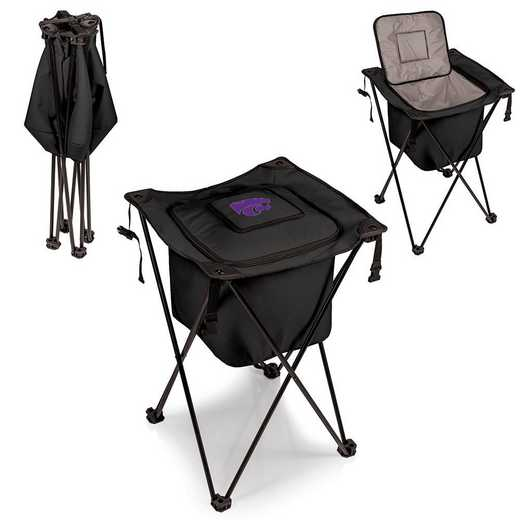 779-00-179-254-0: Kansas State Wildcats - Sidekick Portable Standing Cooler (Black)