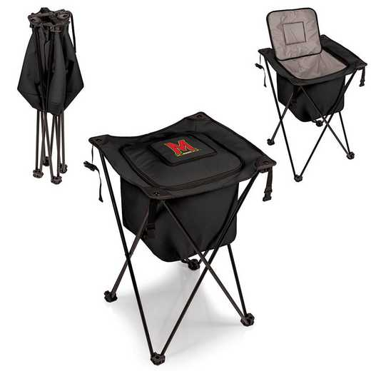 779-00-179-314-0: Maryland Terrapins - Sidekick Portable Standing Cooler (Black)