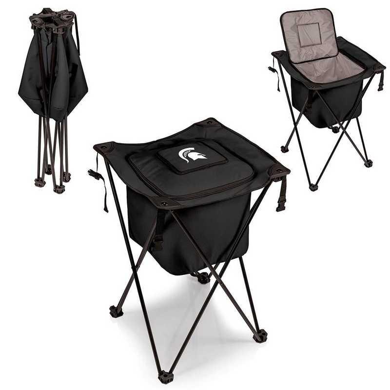 779-00-179-354-0: Michigan State Spartans - Sidekick Portable Standing Cooler (Black)