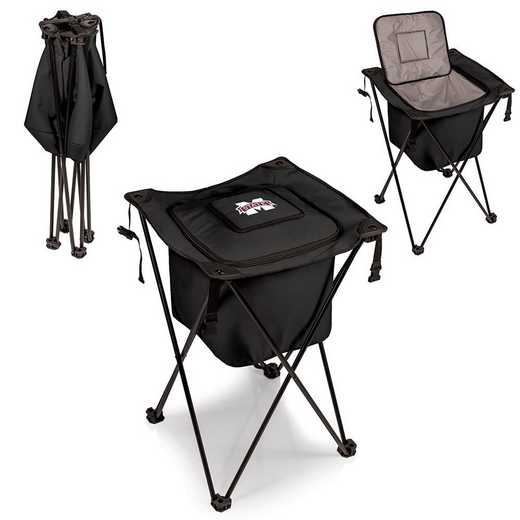 779-00-179-384-0: Mississippi State Bulldogs - Sidekick Portable Standing Cooler (Black)