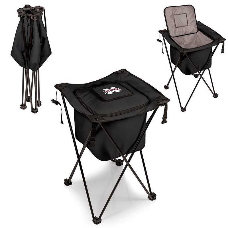 779-00-179-384-0: Mississippi State Bulldogs - Sidekick Portable Standing Cooler (Black)