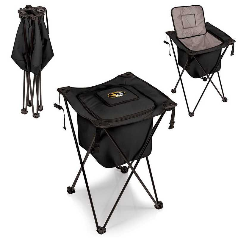 779-00-179-394-0: Mizzou Tigers - Sidekick Portable Standing Cooler (Black)