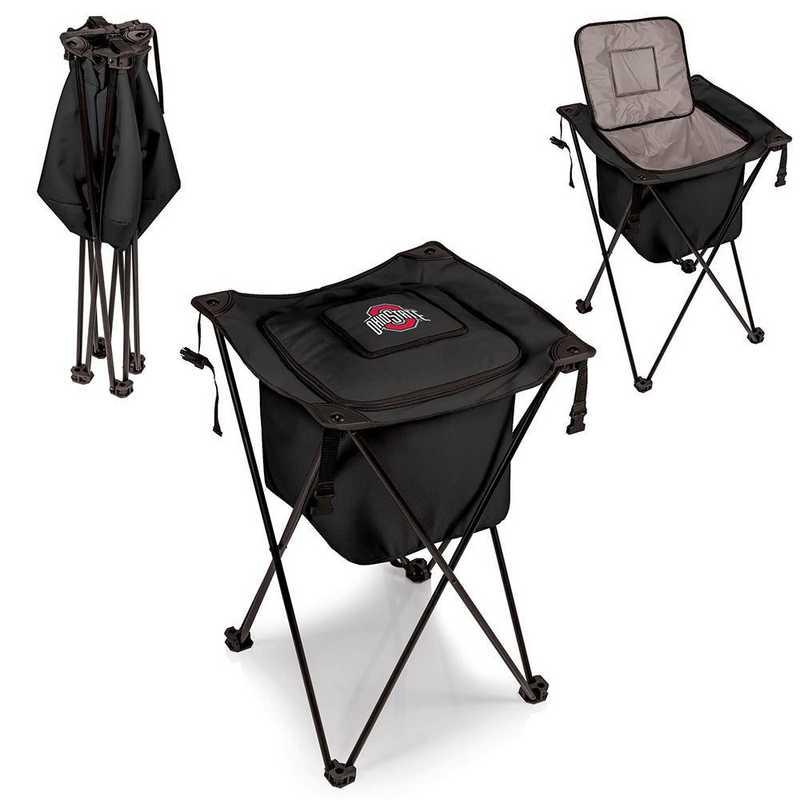 779-00-179-444-0: Ohio State Buckeyes - Sidekick Portable Standing Cooler (Black)