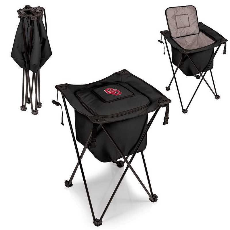 779-00-179-454-0: Oklahoma Sooners - Sidekick Portable Standing Cooler (Black)