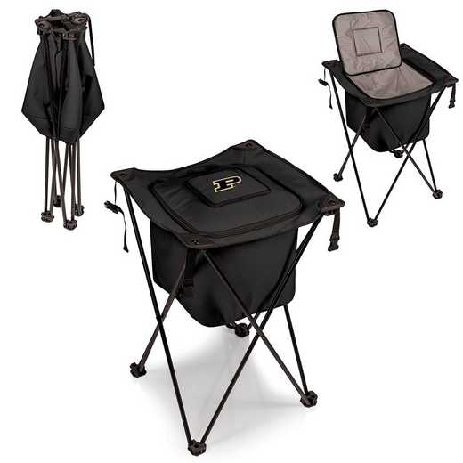779-00-179-514-0: Purdue Boilermakers - Sidekick Portable Standing Cooler (Black)