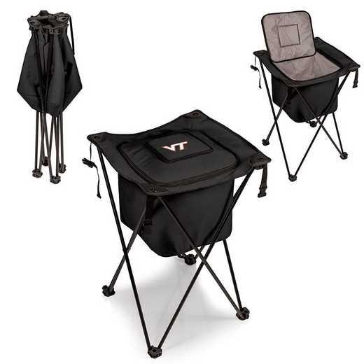 779-00-179-604-0: Virginia Tech Hokies - Sidekick Portable Standing Cooler (Black)