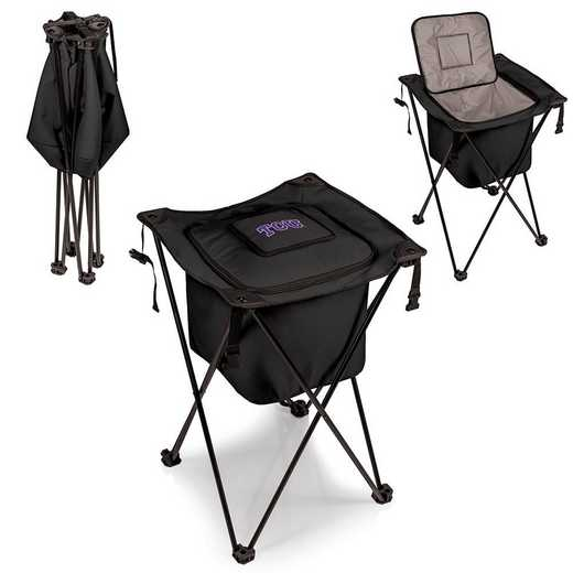 779-00-179-844-0: TCU Horned Frogs - Sidekick Portable Standing Cooler (Black)