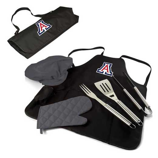 635-88-179-014-0: Arizona Wildcats - BBQ Apron Tote Pro