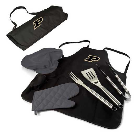 635-88-179-514-0: Purdue Boilermakers - BBQ Apron Tote Pro