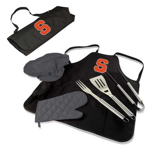 635-88-179-544-0: Syracuse Orange - BBQ Apron Tote Pro