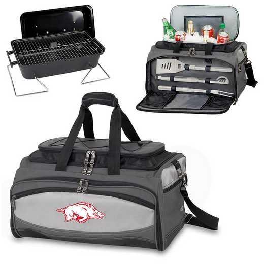 750-00-175-034-0: Arkansas Razorbacks - Buccaneer Portable BBQ and Cooler Tote