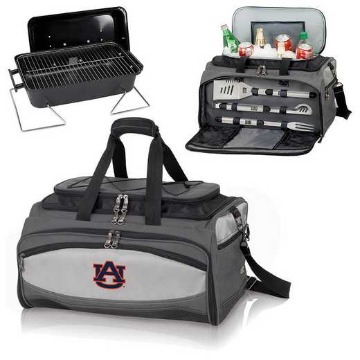 750-00-175-044-0: Auburn Tigers - Buccaneer Portable BBQ and Cooler Tote