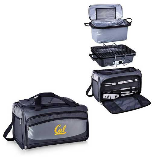 750-00-175-074-0: Cal Bears - Buccaneer Portable BBQ and Cooler Tote