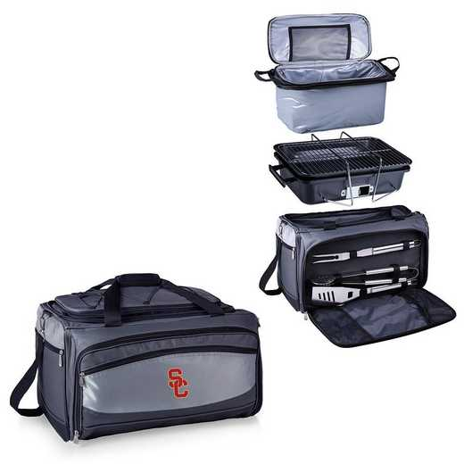 750-00-175-094-0: USC Trojans - Buccaneer Portable BBQ and Cooler Tote