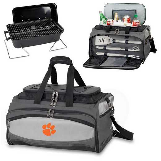 750-00-175-104-0: Clemson Tigers - Buccaneer Portable BBQ and Cooler Tote