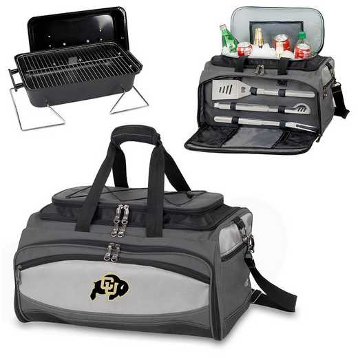 750-00-175-124-0: Colorado Buffaloes - Buccaneer Portable BBQ and Cooler Tote