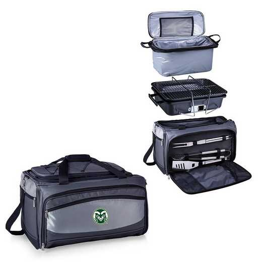 750-00-175-134-0: Colorado State Rams - Buccaneer Portable BBQ and Cooler Tote