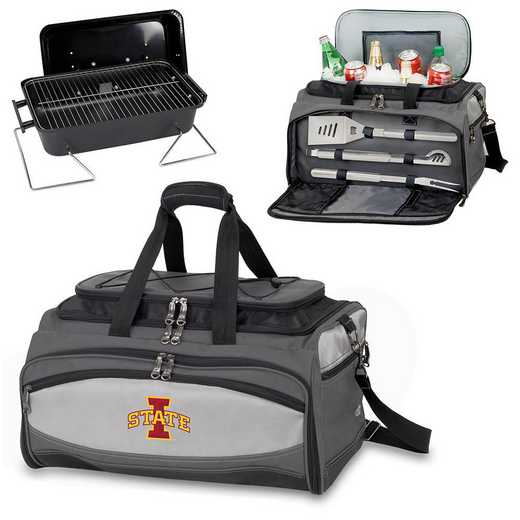 750-00-175-234-0: Iowa State Cyclones - Buccaneer Portable BBQ and Cooler Tote