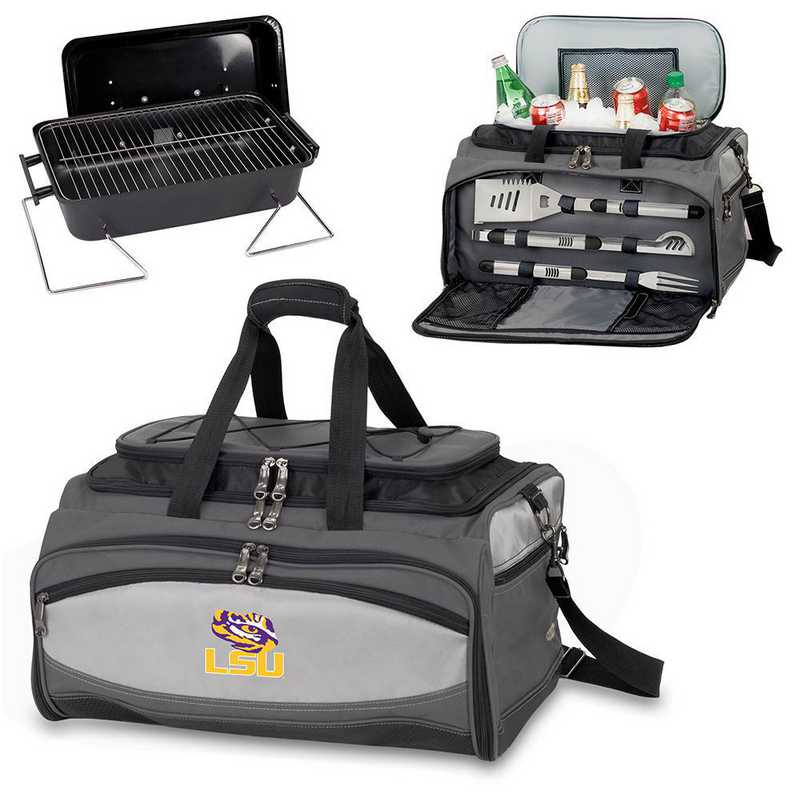 750-00-175-294-0: LSU Tigers - Buccaneer Portable BBQ and Cooler Tote