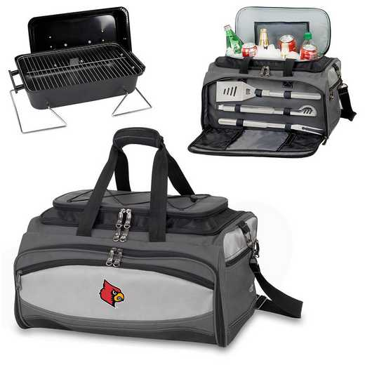 750-00-175-304-0: Louisville Cardinals Buccaneer Portable BBQ and Cooler Tote