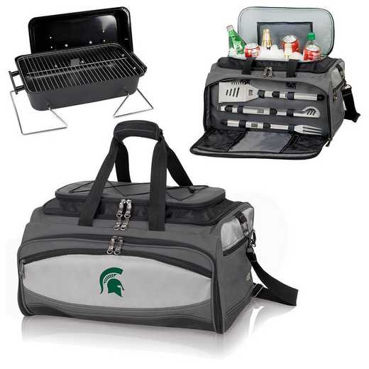 750-00-175-354-0: Michigan State Spartans Buccaneer Portable BBQ/Cooler Tote