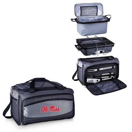 750-00-175-374-0: Ole Miss Rebels - Buccaneer Portable BBQ and Cooler Tote