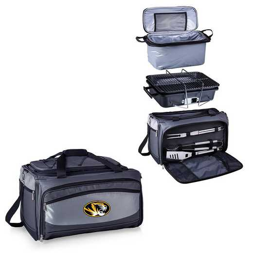 750-00-175-394-0: Mizzou Tigers - Buccaneer Portable BBQ and Cooler Tote
