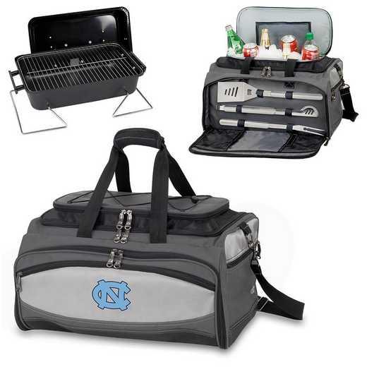750-00-175-414-0: North Carolina Tar Heels Buccaneer Portable BBQ/Cooler Tote