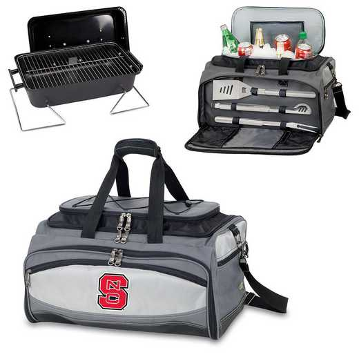 750-00-175-424-0: NC State Wolfpack - Buccaneer Portable BBQ and Cooler Tote
