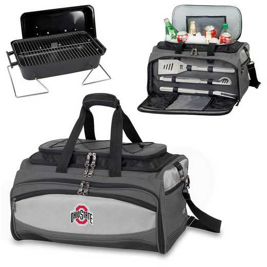 750-00-175-444-0: Ohio State Buckeyes - Buccaneer Portable BBQ and Cooler Tote