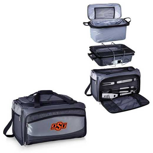 750-00-175-464-0: Oklahoma State CowboysBuccaneer Portable BBQ / Cooler Tote