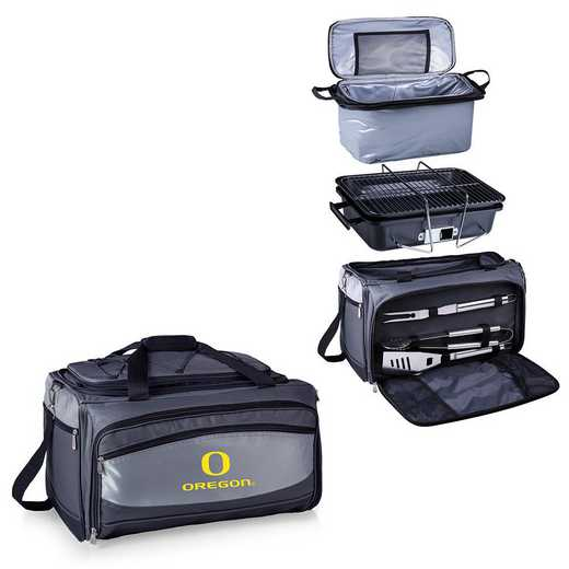 750-00-175-474-0: Oregon DucksBuccaneer Portable BBQ /CoolerTote