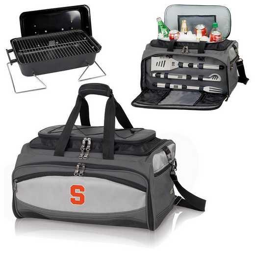 750-00-175-544-0: Syracuse OrangeBuccaneer Portable BBQ /CoolerTote