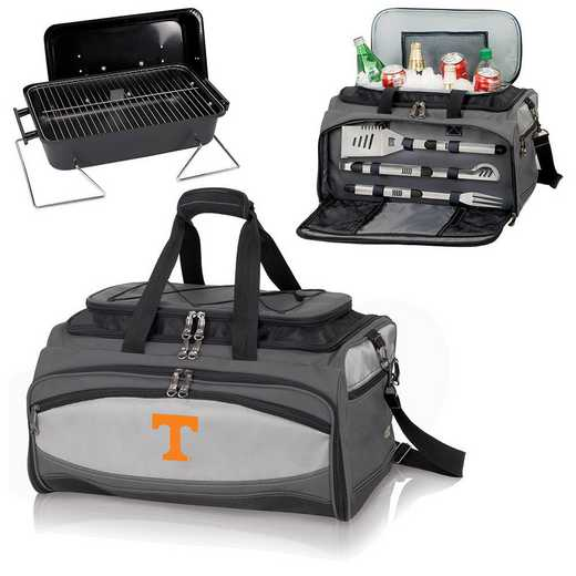 750-00-175-554-0: Tennessee VolunteersBuccaneer Portable BBQ /CoolerTote