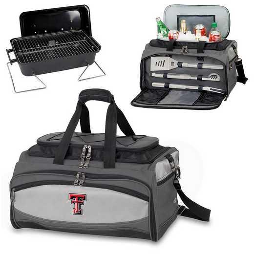 750-00-175-574-0: Texas Tech Red RaidersBuccaneer Portable BBQ /CoolerTote