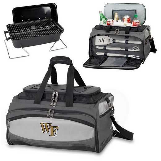 750-00-175-614-0: Wake Forest Demon DeaconsBuccaneer Portable BBQ /CoolerTote