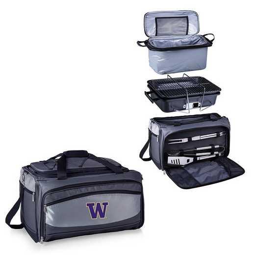 750-00-175-624-0: Washington HuskiesBuccaneer Portable BBQ /CoolerTote