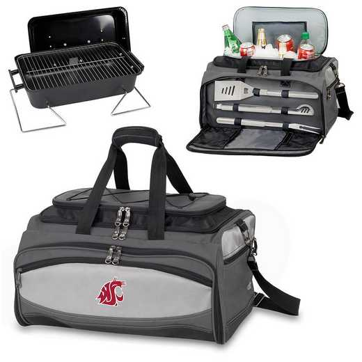 750-00-175-634-0: Washington State CougarsBuccaneer Portable BBQ /CoolerTote