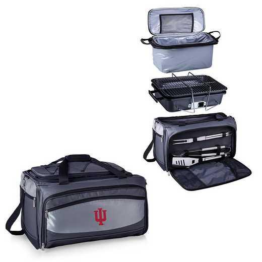 750-00-175-674-0: Indiana HoosiersBuccaneer Portable BBQ /CoolerTote