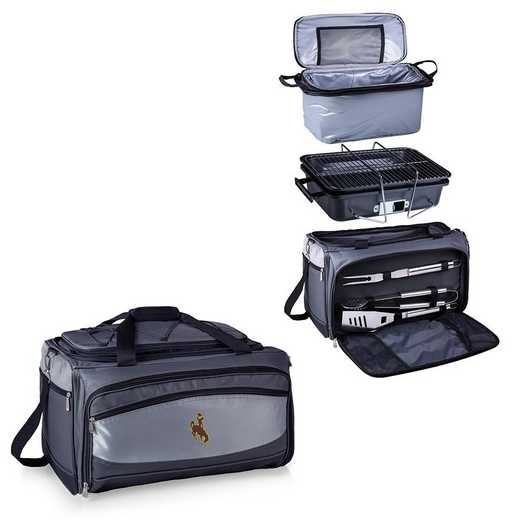 750-00-175-694-0: Wyoming CowboysBuccaneer Portable BBQ /CoolerTote
