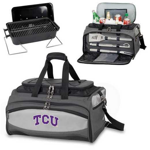 750-00-175-844-0: TCU Horned FrogsBuccaneer Portable BBQ /CoolerTote
